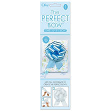 Perfect Light Blue Bows - 6 pk.