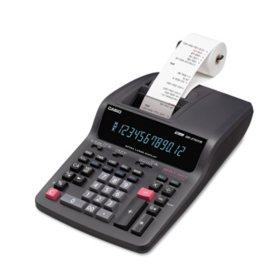 Casio DR-270TM Desktop Calculator, Black/Red Ink Print, 4.8 Lines per Second