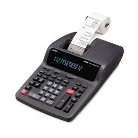 Casio FR-2650TM Two-Color Printing Desktop Calculator, 12-Digit Digitron, Black/Red
