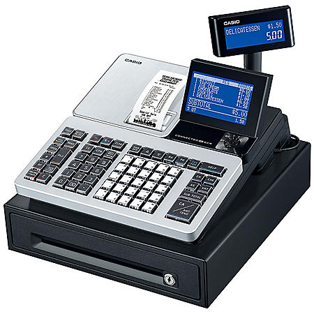Casio PCR-T540SV-SR Cash Register, Bluetooth Capabilities