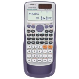 Casio FX-115ESPLUS Advanced Scientific Calculator, 10-Digit Natural Textbook Display