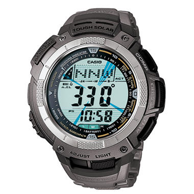 Casio Atomic Solar Pathfinder Watch