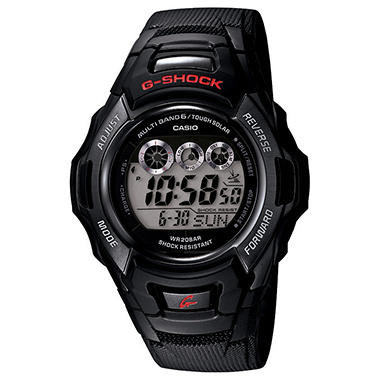 Casio Men's Atomic Solar G-Shock Watch