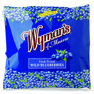 Wyman's Blueberries - 4 lbs.