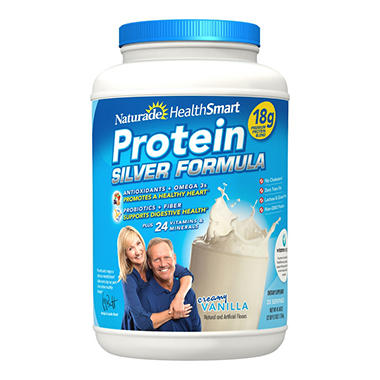 Naturade Health Smart Protein Silver Formula, 39.51OZ