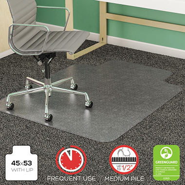Deflect-O - Vinyl Chair Mat - 45