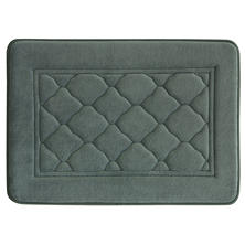 "Antimicrobial Memory Foam Bath Mat (17"" x 24"")"
