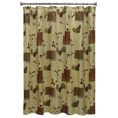 Bacova Leaf Study Shower Curtain - Sam\'s Club