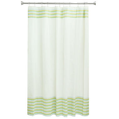 Bocova Seersucker Shower Curtain, White