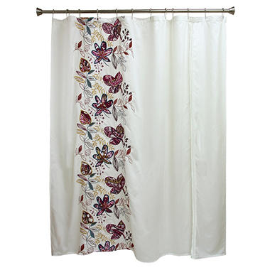 Molly Embroidered Shower Curtain (72