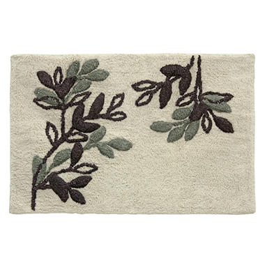 Autumn Leaves Cotton Bath Rug