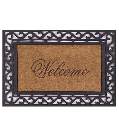 Superbe Framed Welcome Door Mat , 20 X 36