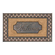 Tavern Basketweave Estate Welcome Mat