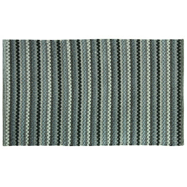 Textured Woven Charcoal Rug (Assorted Sizes)