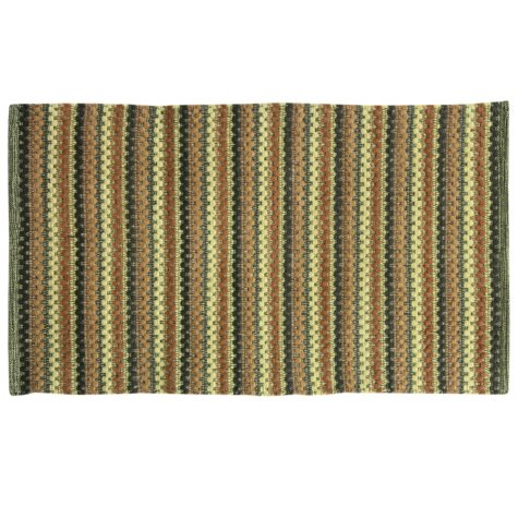 Textured Woven Spice Rug (Assorted Sizes)