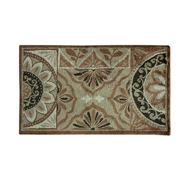 Pamona Copper Microfiber Rug (Assorted Sizes)