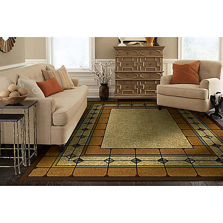 St Chapelle Woven Rug Assorted Sizes Sam S Club