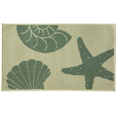 Stars and Shells Large Accent Rug, 20