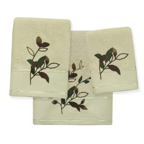 Autumn Leaves 3-Piece Towel Set