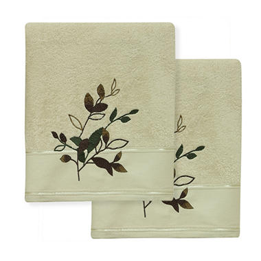 Autumn Leaves 2-Piece Bath Towel Set