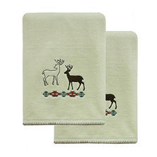 Echo Trail Silhouette 2-Piece Bath Towel Set