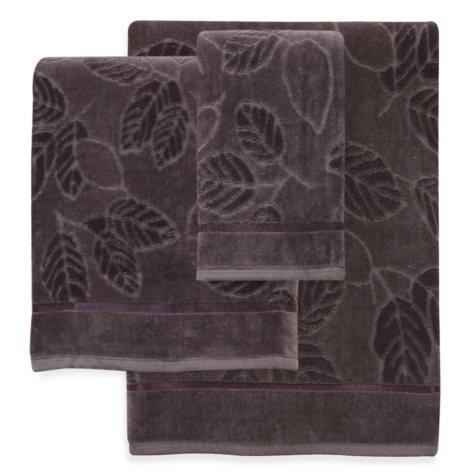 Mystic 3-Piece Purple Towel Set