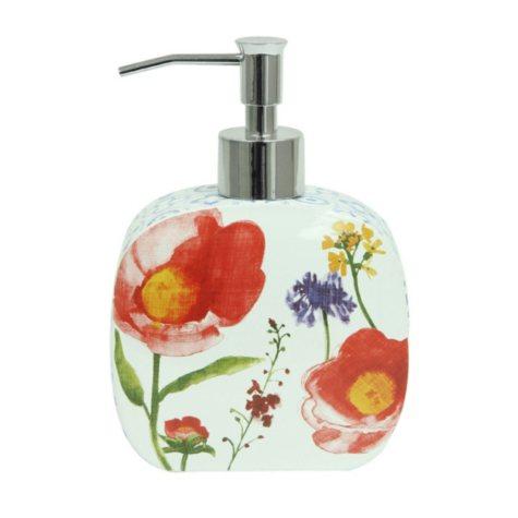 Bacova Watercolor Medallion Lotion/Soap Dispenser