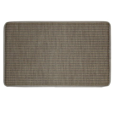 Bacova Basketweave Chef Mat, Tan