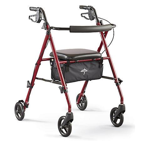 Medline Ultra Lightweight Rollator (Assorted Colors)