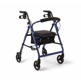 Medline Basic Aluminum Rollator (Choose Your Color)