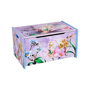 Disney Tinker Bell Fairies Wooden Toy Box Sam S Club
