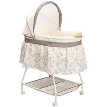 Delta Children Sweet Beginnings Bassinet, Falling Leaves