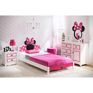 best seller delta children minnie mouse 4piece twin bedroom set - Kids Bedroom Sets Under 500