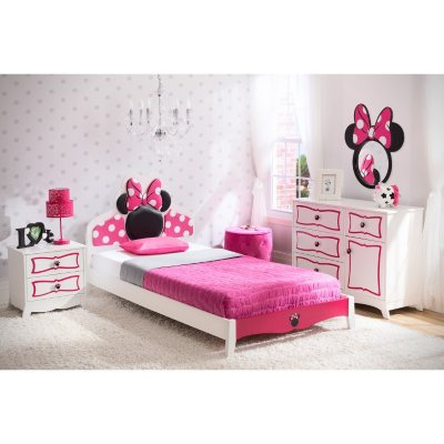Delta Children Minnie Mouse 4 Piece Twin Bedroom Set