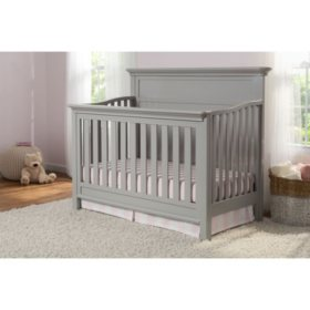Serta Fairmont 4-in-1 Convertible Crib (Choose Your Color)