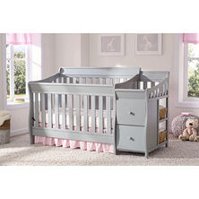 "Delta Children Bentley Convertible Crib 'N' Changer, ""S"" Series (Choose Your Color)"