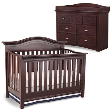 Simmons Kids Augusta 3 Piece Nursery Set Moles
