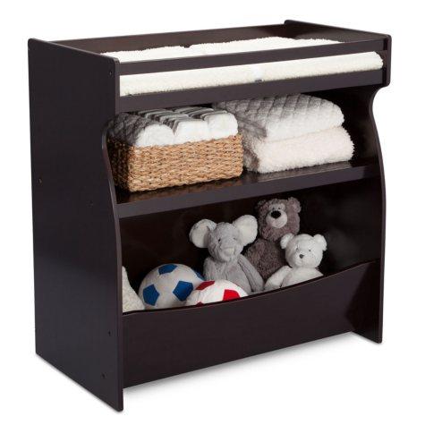 Delta Children 2-in-1 Changing Storage Unit (Choose Your Color)