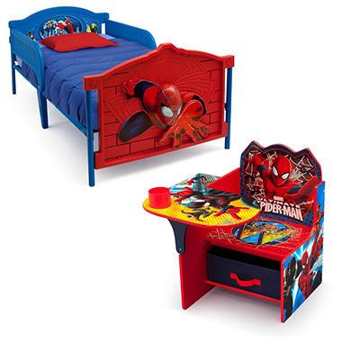 Delta Children Spider Man 2 Piece Twin Bedroom Set Sam 39 S Club