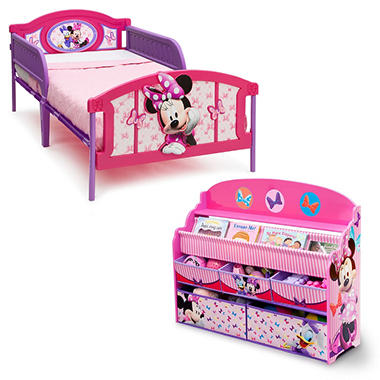 Delta Children Minnie Mouse 2-Piece Twin Bedroom Set - Sam\'s Club