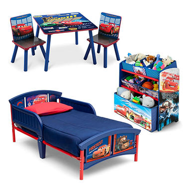 Delta Children Cars 3-Piece Toddler Bedroom Set