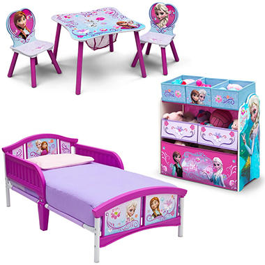 Delta Children Frozen 3 Piece Toddler Bedroom Set