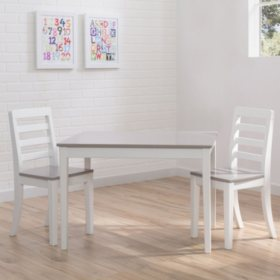 Delta Children Table and Chairs, 3-Piece Set (Assorted Colors)