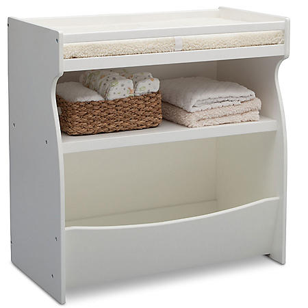 Delta Children 2-in-1 Changing Storage Unit (Choose Your Color)