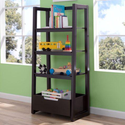 Delta Children Ladder Shelf, Dark Chocolate