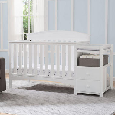 Delta Children Abby Convertible Crib N Changer Choose Your