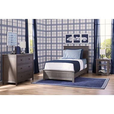 Delta Children Homestead Room-in-a-Box 3-Piece Bedroom Furniture ...
