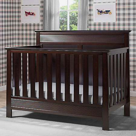 Serta Fall River 4-in-1 Convertible Crib (Choose Your Color)