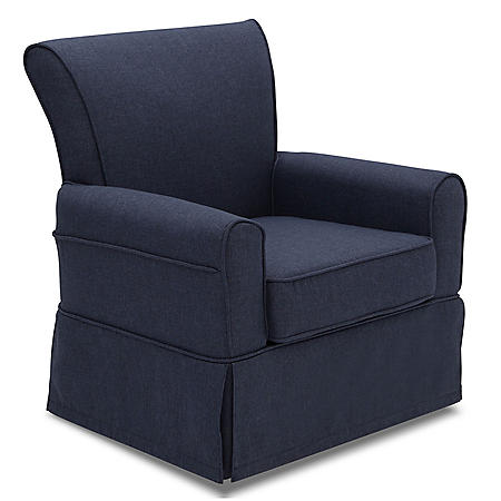 Delta Children Epic Nursery Glider Swivel Rocker Chair (Choose Your Color)