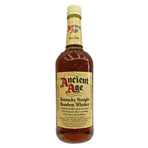 Ancient Age Bourbon Whiskey (1 L)